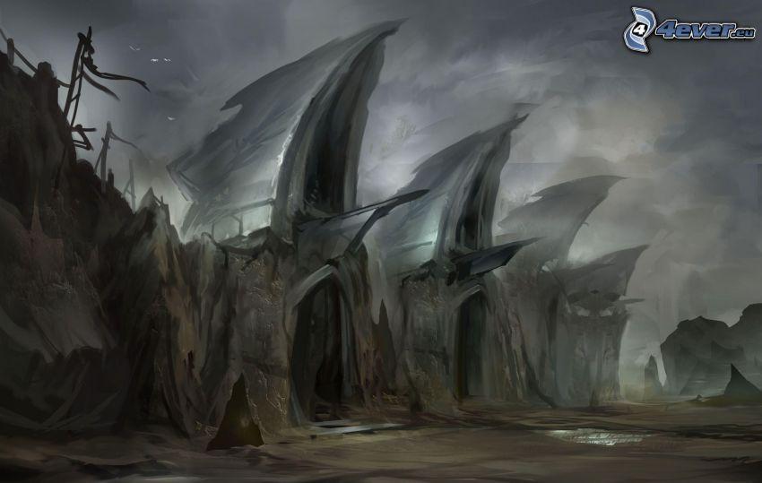 fantasy land, painting