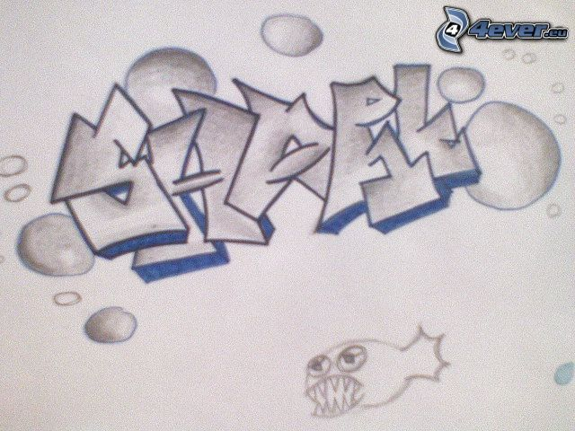 graffiti, hip hop