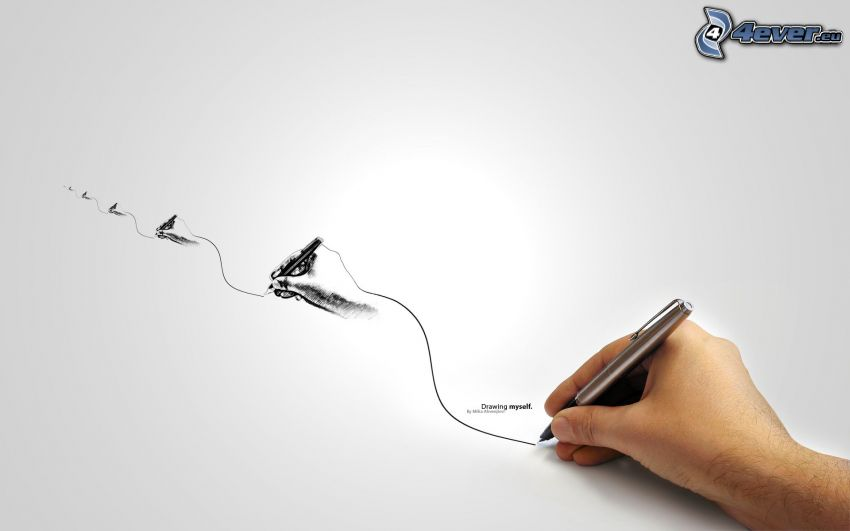 hand, drawing