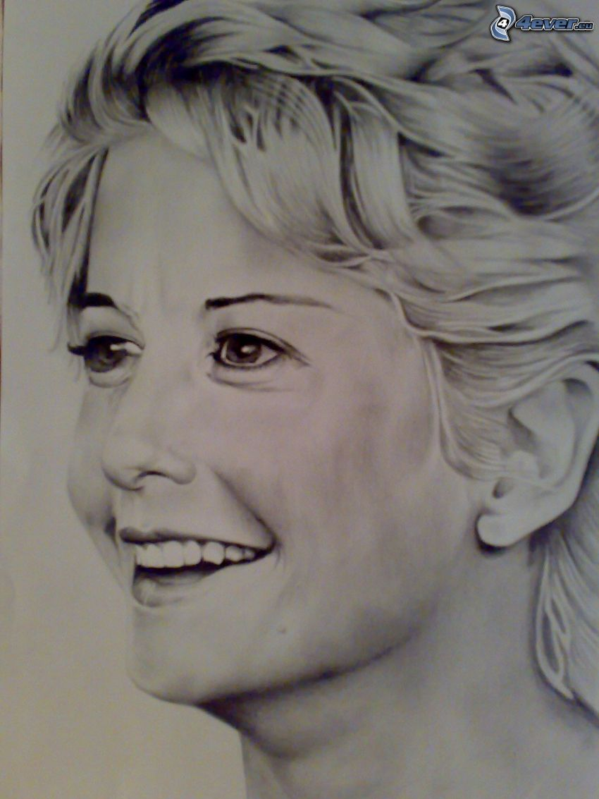 Meg Ryan, art, cartoon