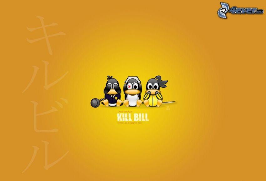 Kill Bill, penguins