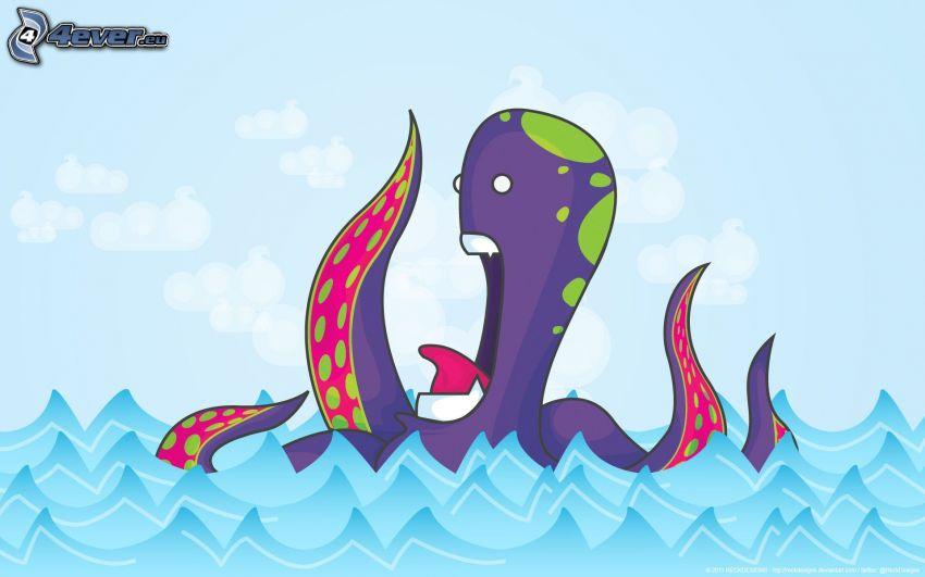 octopus, sea