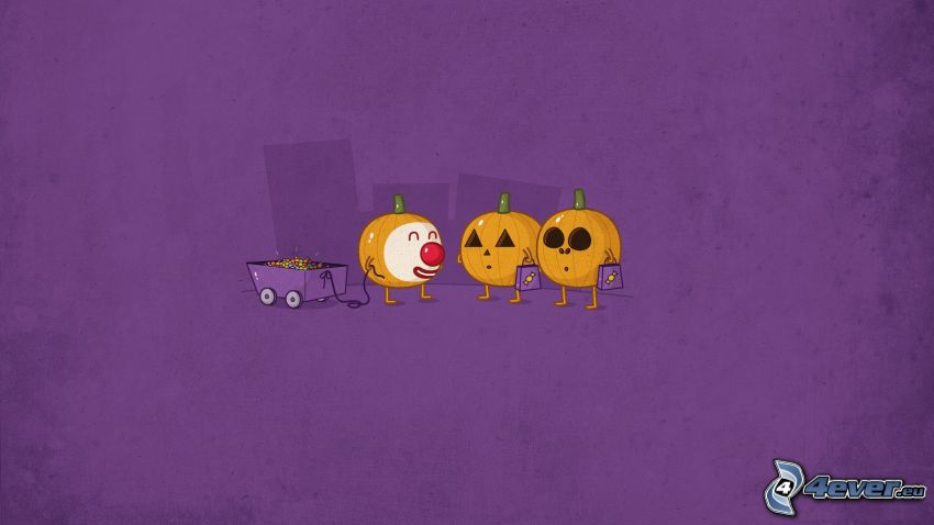 pumpkins, buffoon