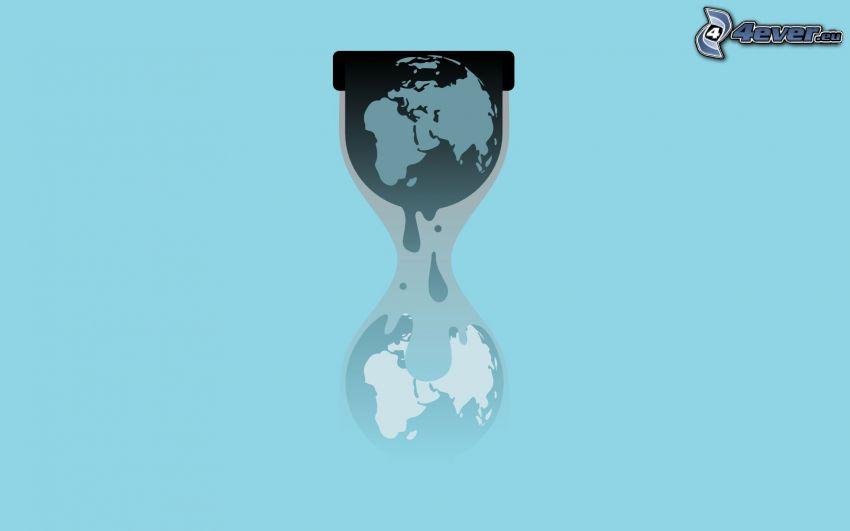 sand-glass, Earth