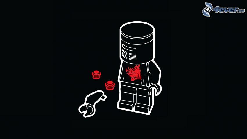stickman, Lego
