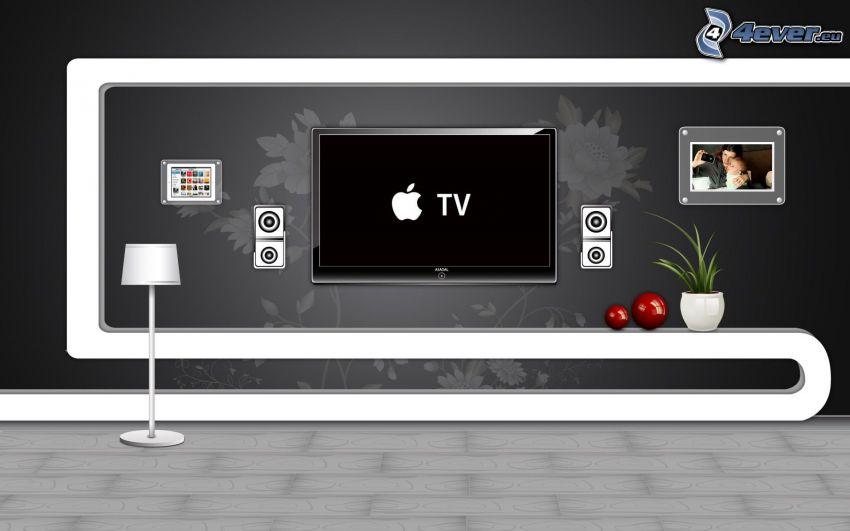 television, Apple