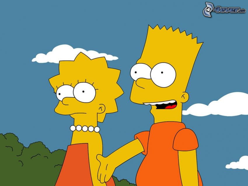 lisa simpson cartoon Bart and