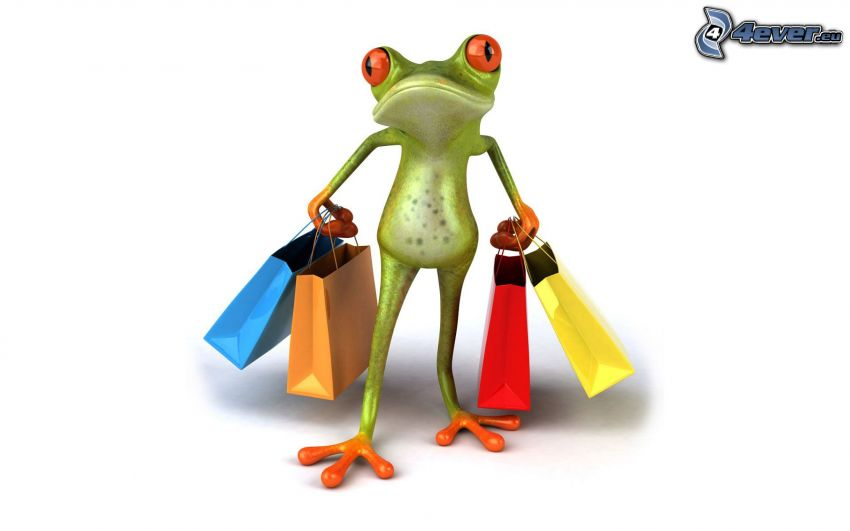tree-frog, bag