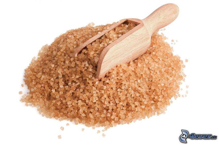 brown sugar, scoop