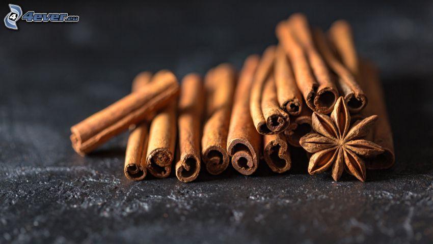 cinnamon, Star anise