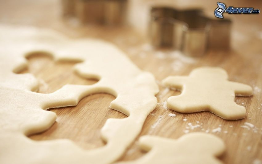 dough, figures