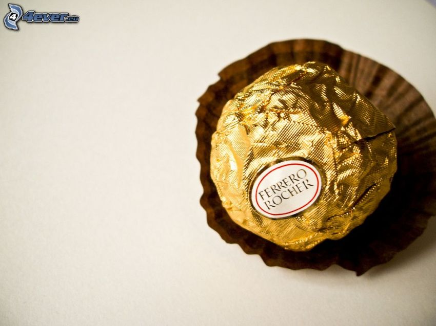 Ferrero Rocher, candies