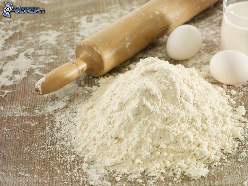 flour, eggs