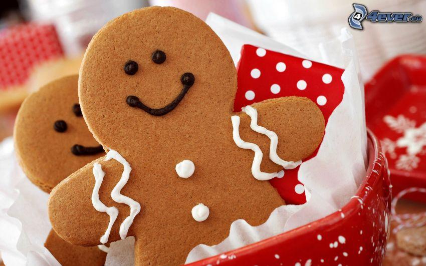 gingerbread, stickmans