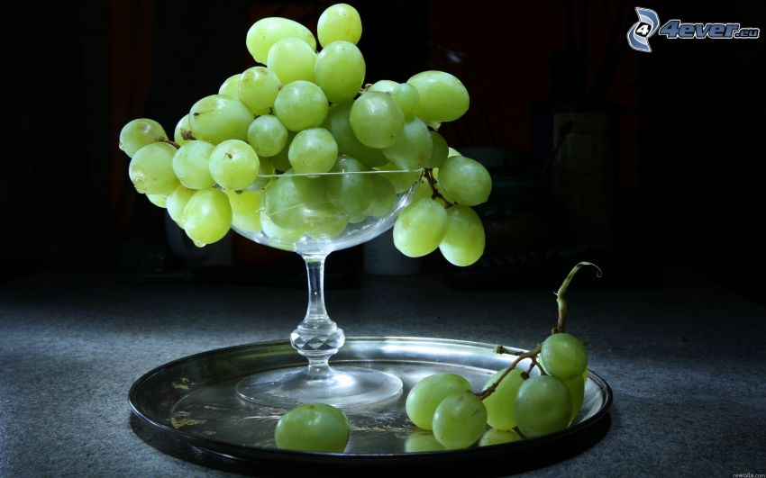 grapes, cup