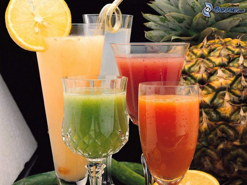 juices, pineapple