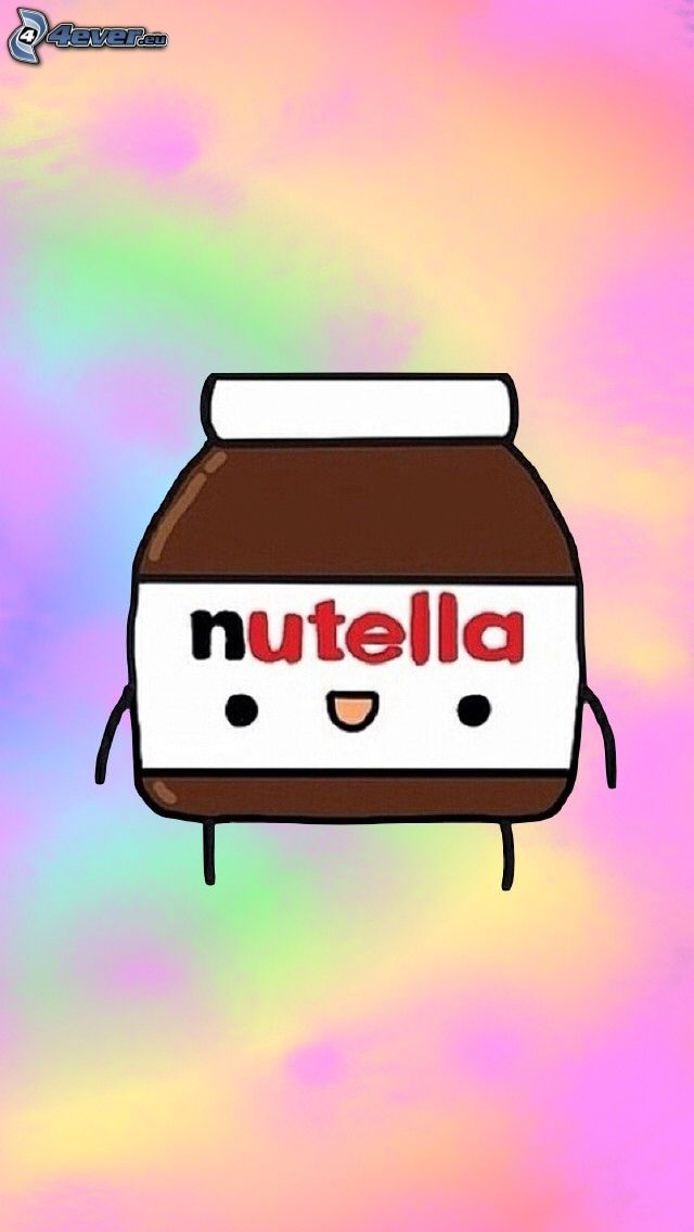 nutella, cartoon