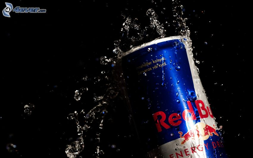 Red Bull, can