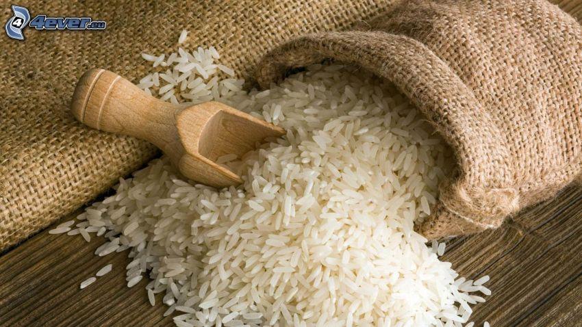 rice, sack