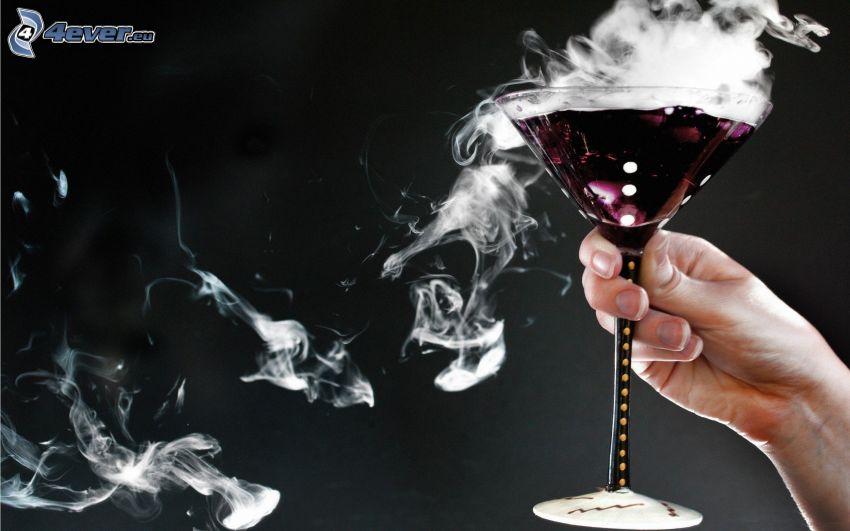 wine, steam