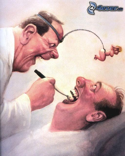 dentist, woman