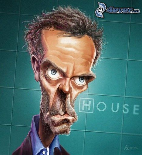 Dr. House, caricature