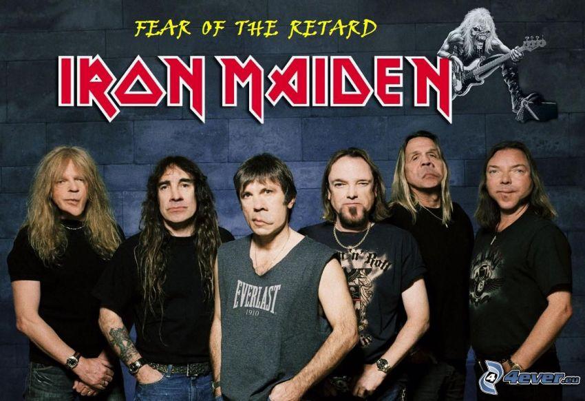 Fear Of The Retard, Iron Maiden, caricature