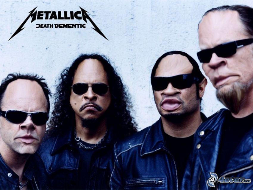 Metallica, caricature