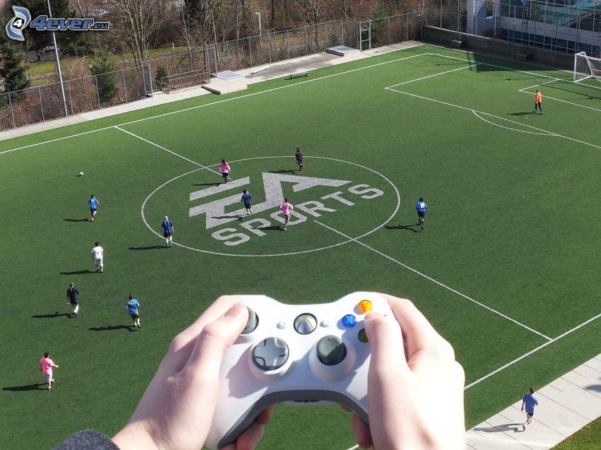 FIFA live, EA sports, football stadium
