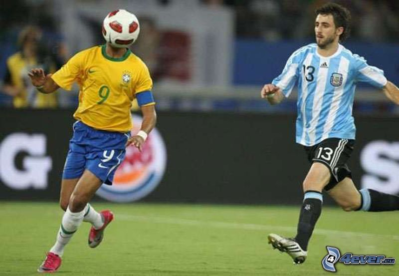 funny face, ball, footballers, snapshot