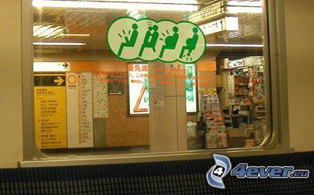 subway, signs