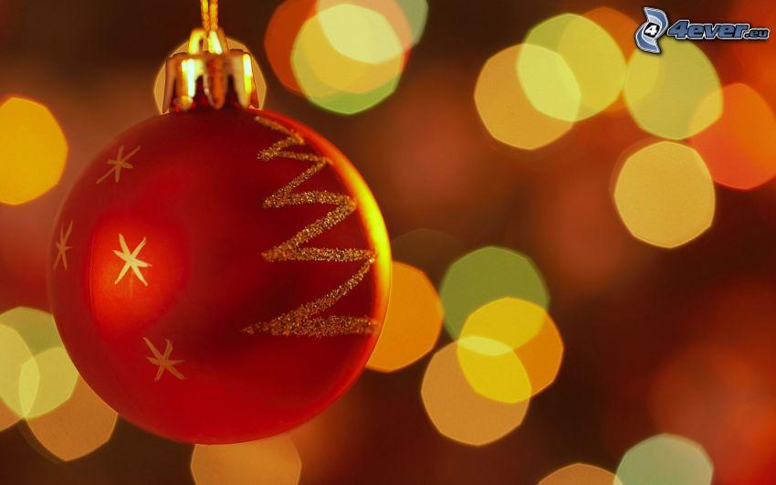 christmas ball, lights