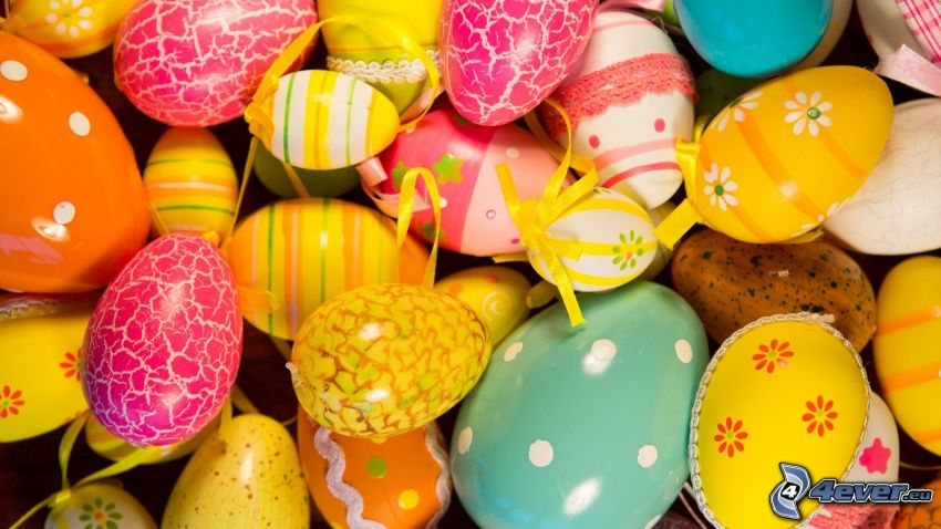 painted Eggs, easter eggs