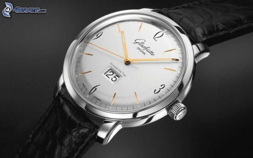 analog watch, Glashütte