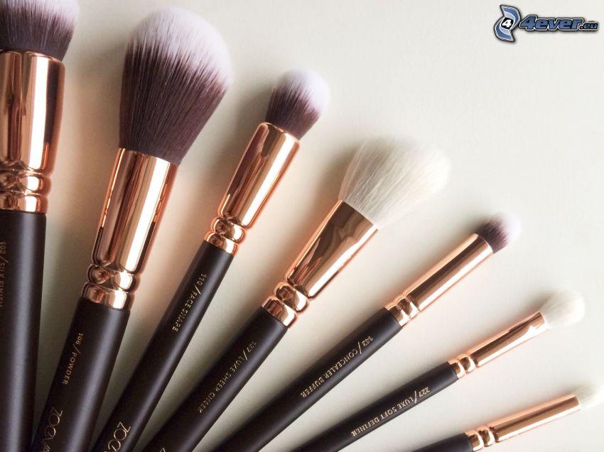 brushes, make-up