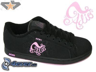 Adio, black sneaker