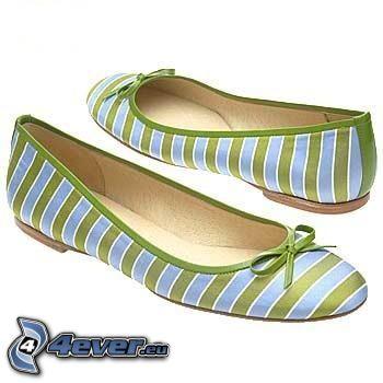 ballerines, shoes
