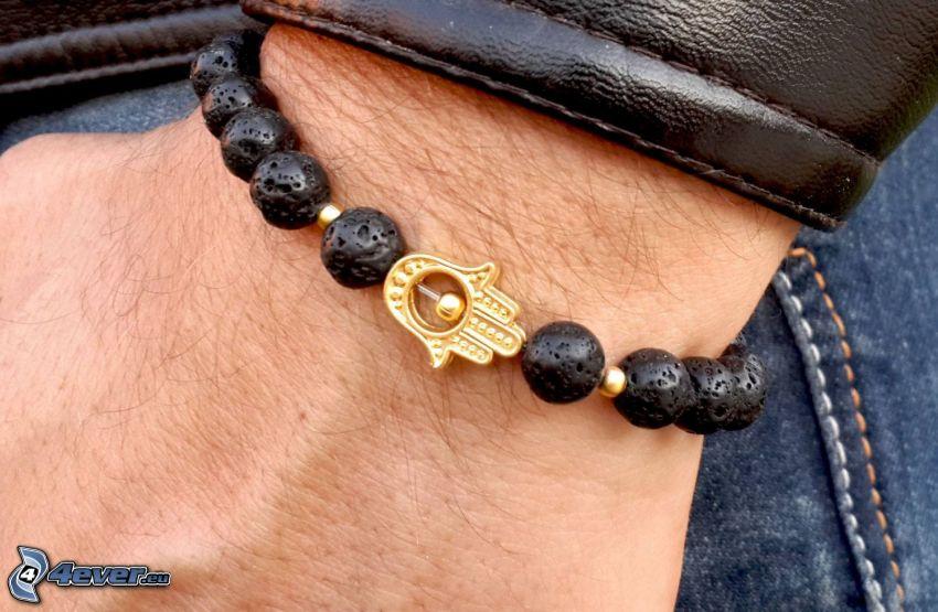 bracelet, balls, hand