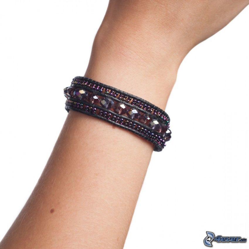 bracelet, hand