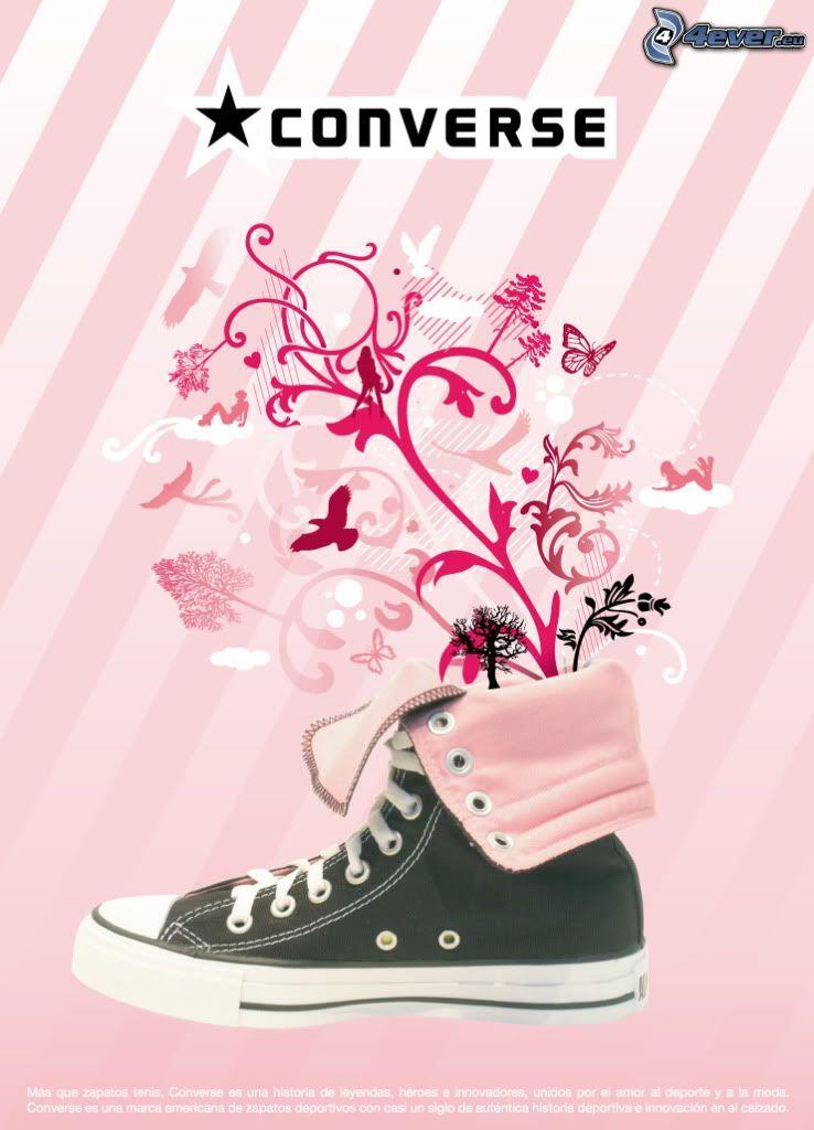 Converse, black sneaker