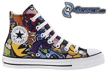 Converse, colorful sneaker