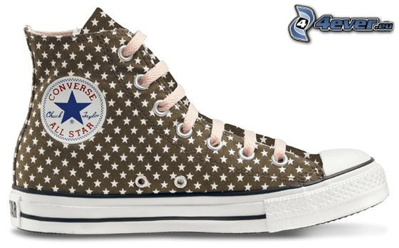 Converse All Star, brown sneaker