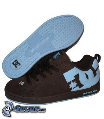 DC Shoes, black sneakers