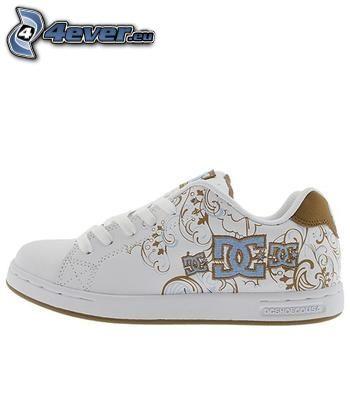 DC Shoes, white sneaker