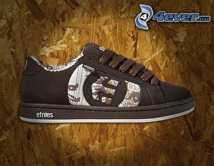Etnies, brown sneaker