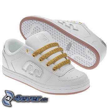 Etnies, white sneakers
