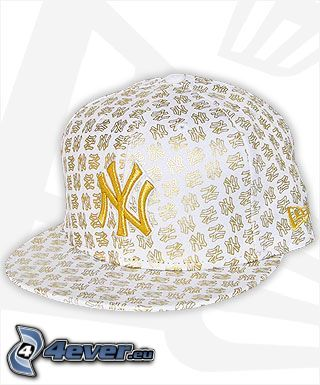 New York, cap, hat