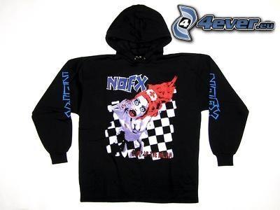 NOFX, sweater, chessboard, nurse