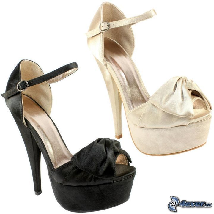 pumps with strap