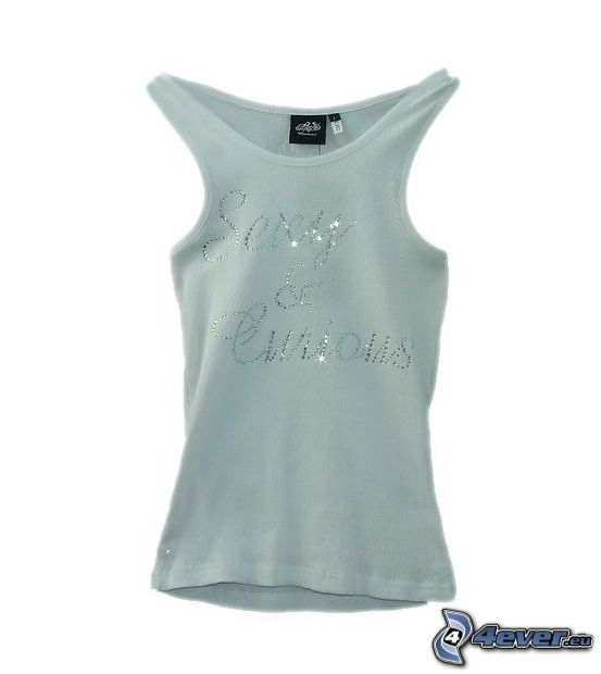 T-shirt, glitter